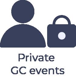 Private GC events logo